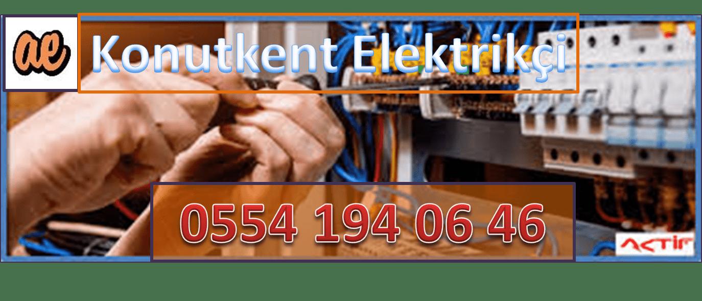 Konutkent Elektrikçi Konutkent Elektrikçiler Ankara